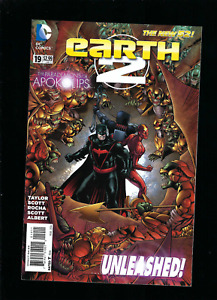 Earth 2 #19 (2014) Barry Kitson Cover Art 1st Appearance of Val-Zod DC Comics