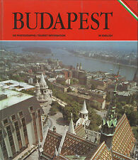 BUDAPEST HUNGARY - 1989 TOURIST INFORMATION GUIDE – TRAVEL – BOOK - HARDCOVER