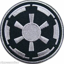 Star Wars Imperial Black Classic Episode Movie Embroidered Iron-On Patches #0034