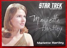 STAR TREK TOS 50th, MARIETTE HARTLEY as Zarabeth, LIMITED EDITION Autograph Card