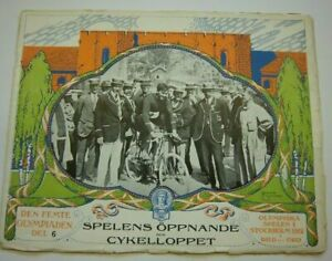 Orig.PRG / Pictorial Review  Olympic Games STOCKHOLM 1912 - OPENING CEREMONY !!