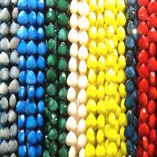 DIY 14/18mm Teardrop charm Ceramic Glass Threading beads Bracelet Making