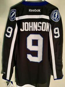 Reebok Premier NHL Jersey Tampa Bay Lightning Tyler Johnson Black sz S