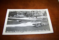 Rare Vintage RPPC Real Photo Postcard Memaloose Island Indian Funeral Ground ORE