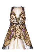 Alberta Ferretti RUNWAY Spring 2016 Silk Organdi Butterfly Trapeze Dress Size 4