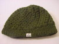 ROXY BEANIE LINED SOCK HAT - GREEN WOMEN'S ONE SIZE FITS MOST