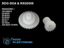 2 SET gear for Technics / Panasonic RDG0034 + RXG0009 - list models.