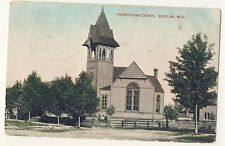 Vintage Postcard (1909) - Presbyterian Church, Grayling, Mich - Posted 1796