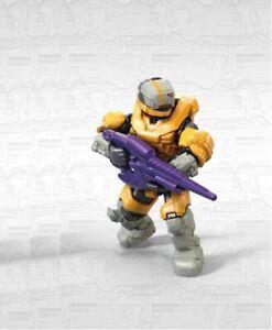 Mega Construx Halo Infinite 1 Series Yellow Spartan Gungnir NEW in Sealed Bag