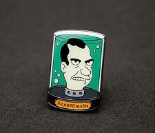 Pin Badge Futurama Richard Nixon Head in Jar
