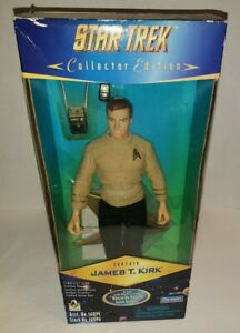 """STAR TREK CAPTAIN KIRK """"WHERE NO MAN HAS GONE BEFORE"""" COLLECTOR EDITION 9 INCH"""
