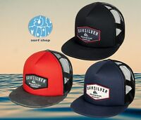 New Quiksilver Jetty Grind Mens Snapback Trucker Cap Hat