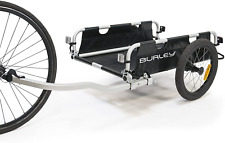 Aluminum Utility Cargo Bike Trailer, Standard Forged Hitch Included
