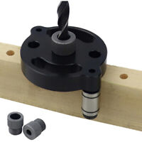6/8/10mm Self-centering Vertical Doweling Jig Drill for Locator Hole Puncher bv