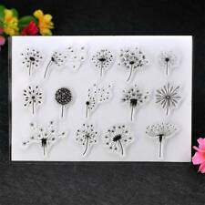 Dandelion Scrapbook DIY Photo Cards Account Rubber Stamp Clear Silicone Stamp