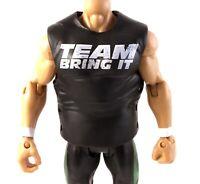 The Rock Team Bring It Shirt WWE Mattel Elite Series 16 Action Figure Accessory