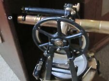 1913 Surveying Transit W/Box  Vintage Precision Instrument - C.L.Berger & Sons