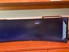 Samsung CJ890 Series C43J890DKN 43 inch 3,000:1 5ms HDMI/DisplayPort/USB LED