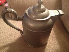Antique Manning Bowman & Co Silver/ Metalware Teapot Coffee Pot dated 1899