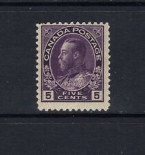 CANADA - 1922 - 5c KING GEORGE V ADMIRAL THIN PAPER - SCOTT 112a - MNH