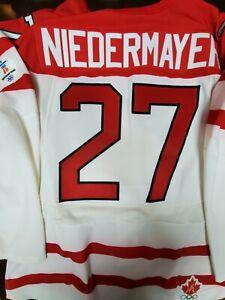 Authentic 2010 Olympics Scott Niedermayer Team Canada Jersey Size 58