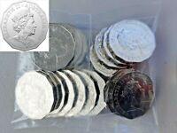 Australian 2019 50c JC Mint bag of 20 coins UNC