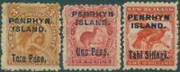 Cook Islands Penrhyn 1903 SG14-16 Birds set MH