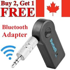 Wireless Bluetooth Aux Adapter 3.5mm Audio Music Receiver Stereo Mic for Car