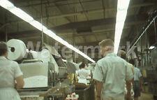 1964 L & M Lark Cigarette Factory Workers Richmond VA Original Afga 35mm Slide 3