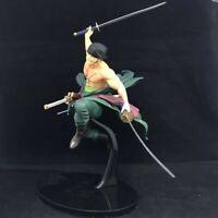 One Piece Zoro Anime Manga Figuren Figure Figur Set H:26cm Aus PVC + Box