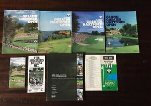 Canon GHO Golf - Spectator Guides 89-93, Ticket, Hal Irwin Signature +More!