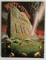 Vintage 1983 Monty Python MEANING OF LIFE Souvenir Program Book TERRY JONES Pics