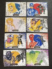 2020 UD Marvel Anime Complete Base Card Set of 90 Graphic by JAPAN Peach MOMOKO