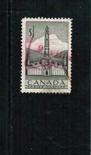 Canada 1953 $1.00 classic Totem used #321 Bk 01