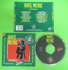 CD Compilation SOUL MUSIC Volume 1 QUINCY JONES O'JAYS JAMES BROWN no lp (C8)