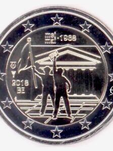 Belgium 🇧🇪 2€ Euro 2018 CoinCARD Commemorative Revolt May 1968 New BUNC