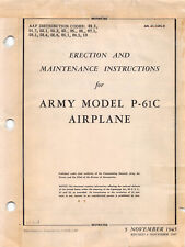 P-61C Black Widow Erection and Maintenance Inst's Flight Manual.....CD Version