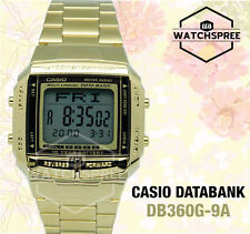 Casio Data Bank Watch DB360G-9A