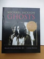 Michael Jackson Ghosts Collectors Edition CD Box Set RAR SAMMLER