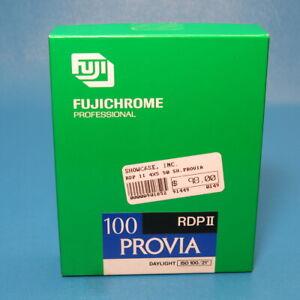 Fujichrome Fuji Provia ISO 100 RDPII 4x5 Sheet Film 25 Sheets Unopened EXP 1996