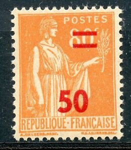 STAMP / TIMBRE DE FRANCE NEUF N° 481 ** TYPE PAIX SURCHARGEE