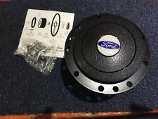 FORD CORTINA MK 2  ALLOY CAST STEERING WHEEL BOSS Inc Hornpush ,screws