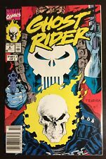 Ghost Rider #6 - 1990 Marvel Comics - Free Shipping in a BOX - Punisher - NM