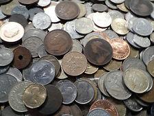 140 coins big bulk lot english world coins