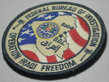 FBI FEDERAL BUREAU OF INVESTIGATION in Balad IRAQ: Baghdad Operations Center BOC