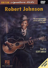 GUITAR DVD Robert Johnson Signature Licks Learn To Play