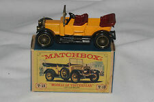 Matchbox MOY Yesteryear #Y-13 1911 Daimler, Nice, Boxed