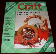 Craft Books: #875 Plaids Creative Christmas Cut-Outs