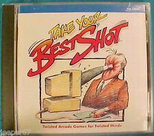 Take Your Best Shot (PC GAME) GREAT CONDITION Animations By Bill Plympton