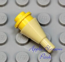 NEW Lego Minifig YELLOW ICE CREAM Scoop w/Tan Cone -Girl Friends Minifigure Food